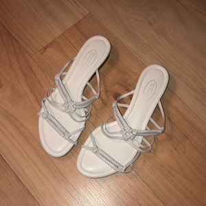 Talbots White Sandals